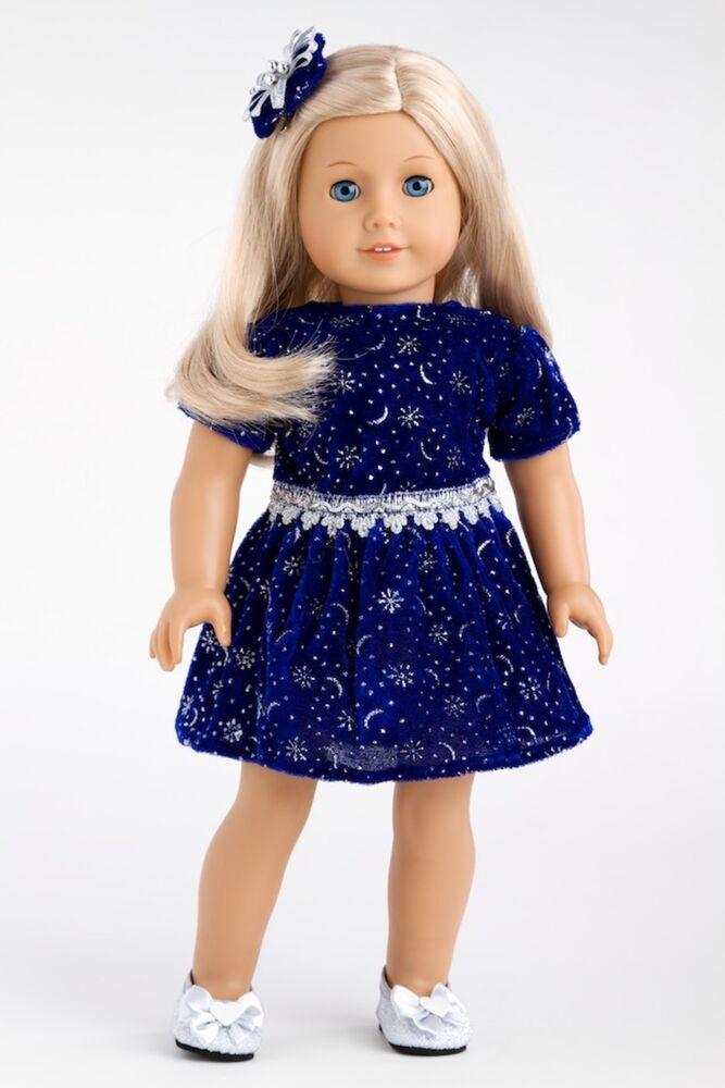 midnight blue   clothes for 18 inch american girl doll