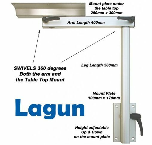 Lagun Marine Boat Rv Motorhome Swivel Amp Adjustable Height