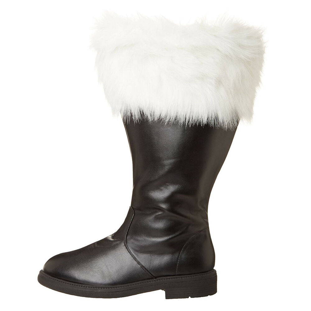 a1236d1227e9 Adult Men s Professional Wide Calf Santa Claus St. Nick Christmas Costume  Boots