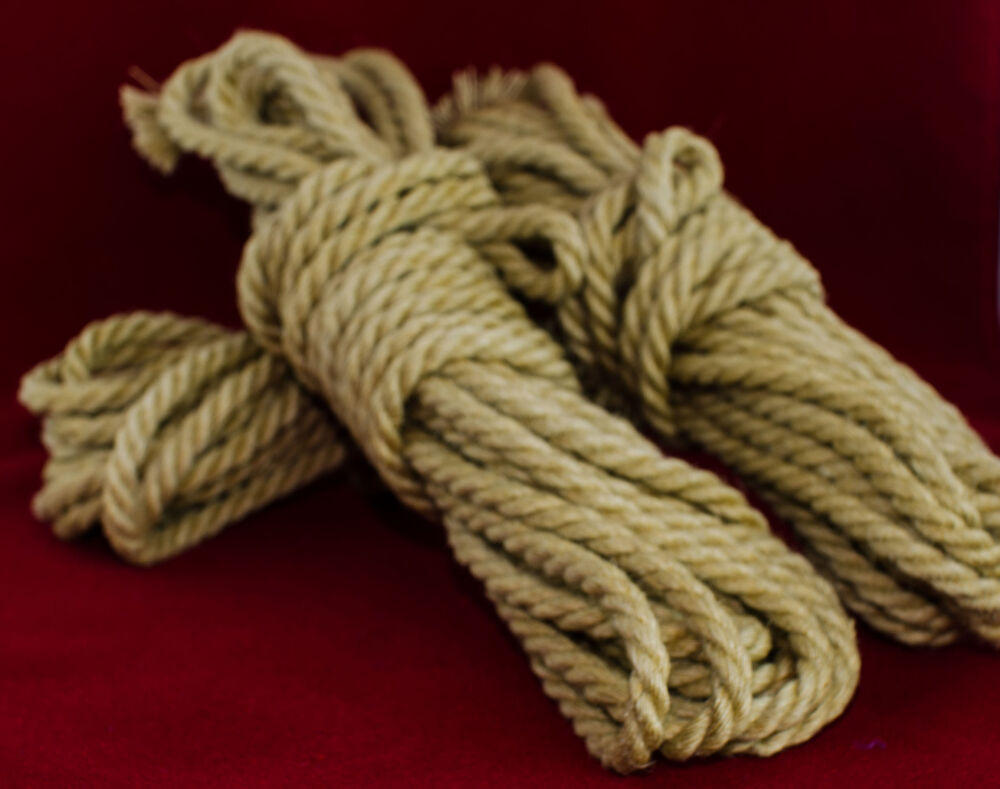 how to clean jute rope