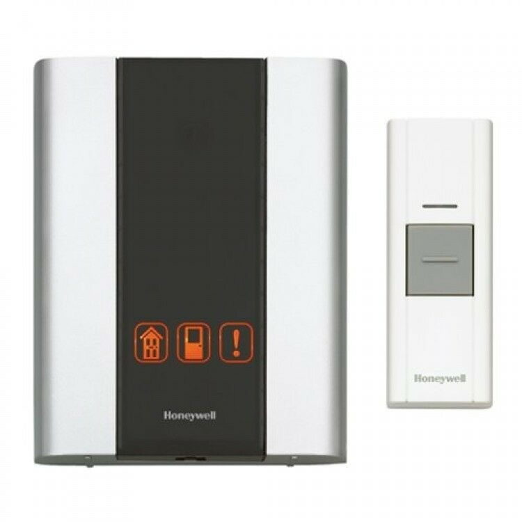 Honeywell RCWL300A1006 Premium Portable Wireless Door Chime and Push Button New 690005233772 | eBay  sc 1 st  eBay : wireless door - pezcame.com