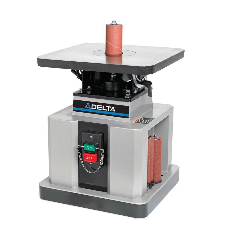 Delta 31-483 Heavy-Duty Oscillating Bench Spindle Sander ...