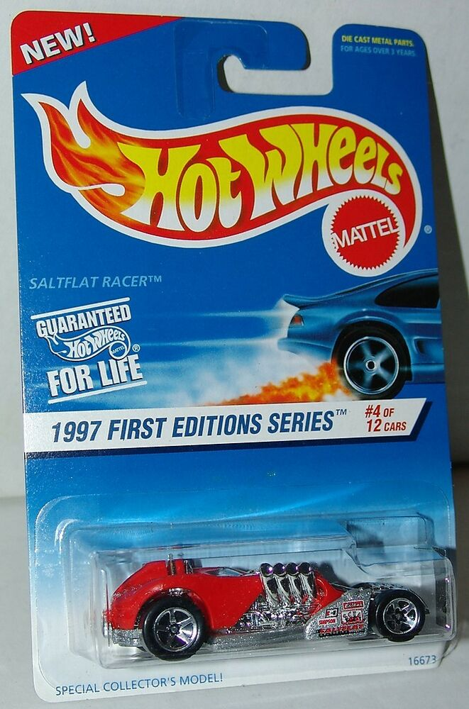 hot wheels 1997 first editions 4 of 12 saltflat racer 520. Black Bedroom Furniture Sets. Home Design Ideas
