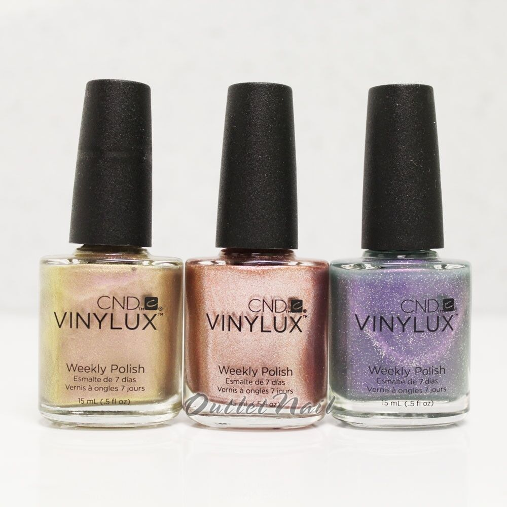 CND Vinylux Gilded Dream Holiday 2014 Collection Matches Shellac CHOOSE COLOR   eBay