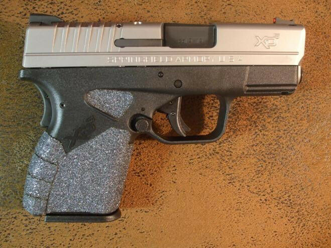 Sand Paper Pistol Grips For The Springfield Armory Xds 9mm