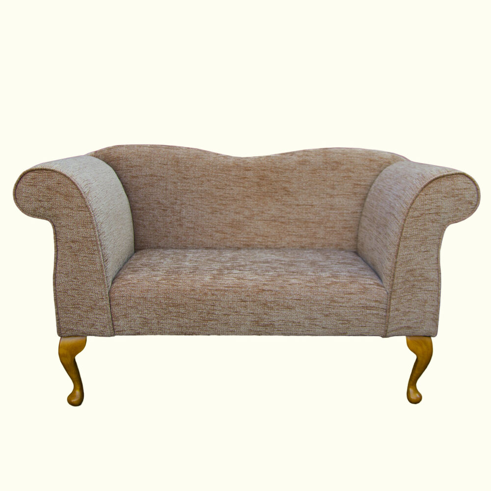 Double ended chaise longue in a boucle blush fabric ebay for Chaise longue double exterieur