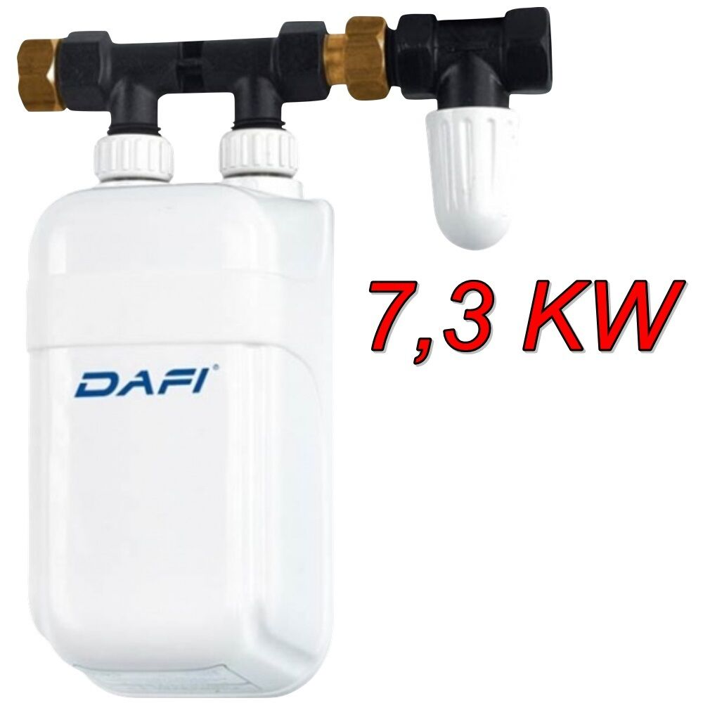 In Line Instant Hot Water : Kw dafi in line under sink water heater tankless