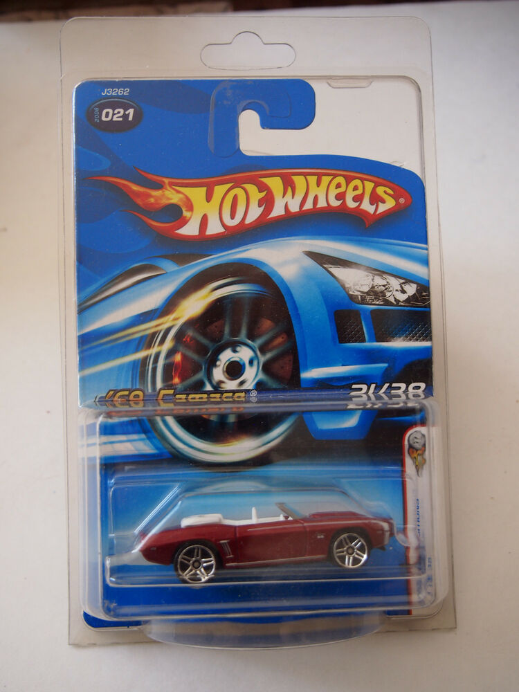 hot wheels 2006 first editions 69 camaro 31 38 021 ebay. Black Bedroom Furniture Sets. Home Design Ideas