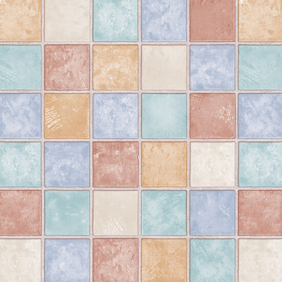 Mosaic Tile Effect Self Adhesive Wallpaper Roll Contact