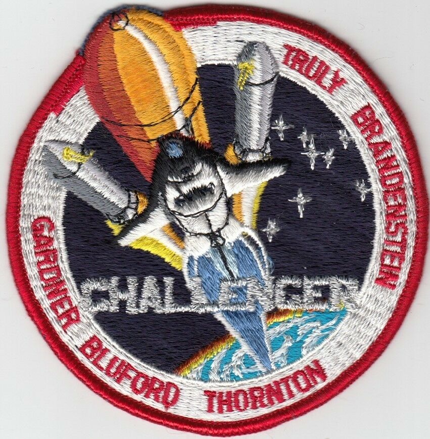 "[49000] UNDATED PATCH NASA SPACE SHUTTLE ""CHALLENGER ..."