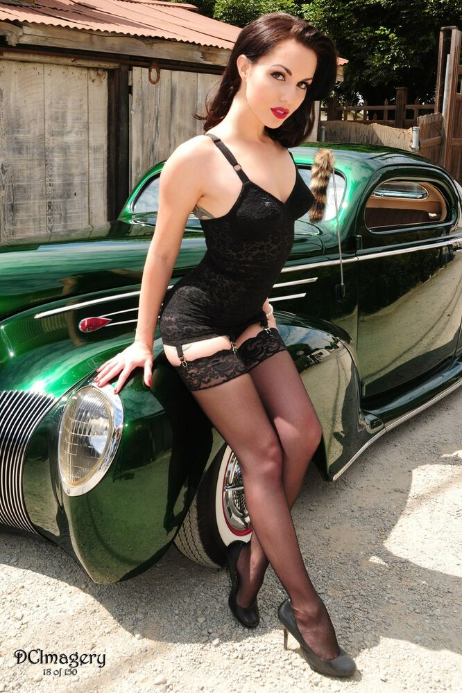 Nude Hot Rod Pinups 116