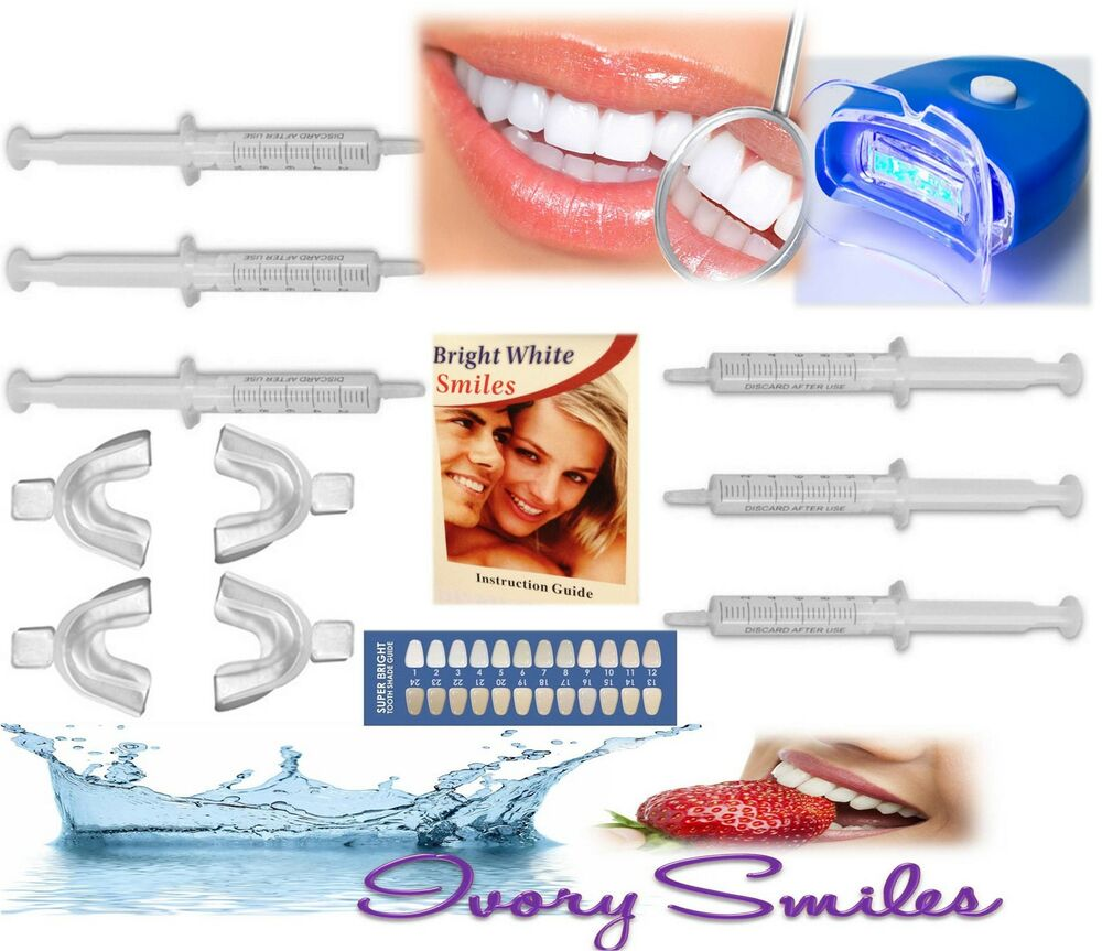 teeth whitening strong quality gel at home dental whitener 30ml 5 leds. Black Bedroom Furniture Sets. Home Design Ideas