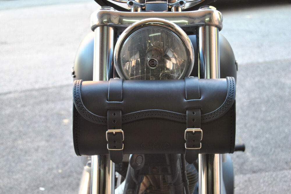 Motorcycle Tool Bag >> HANDCRAFTED LEATHER TOOL BAG FOR HARLEY DAVIDSON DYNA ...
