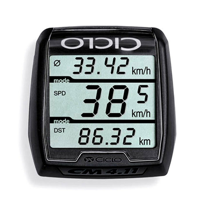 ciclosport cm blackline funk fahrradcomputer tachometer fahrradtacho ebay. Black Bedroom Furniture Sets. Home Design Ideas