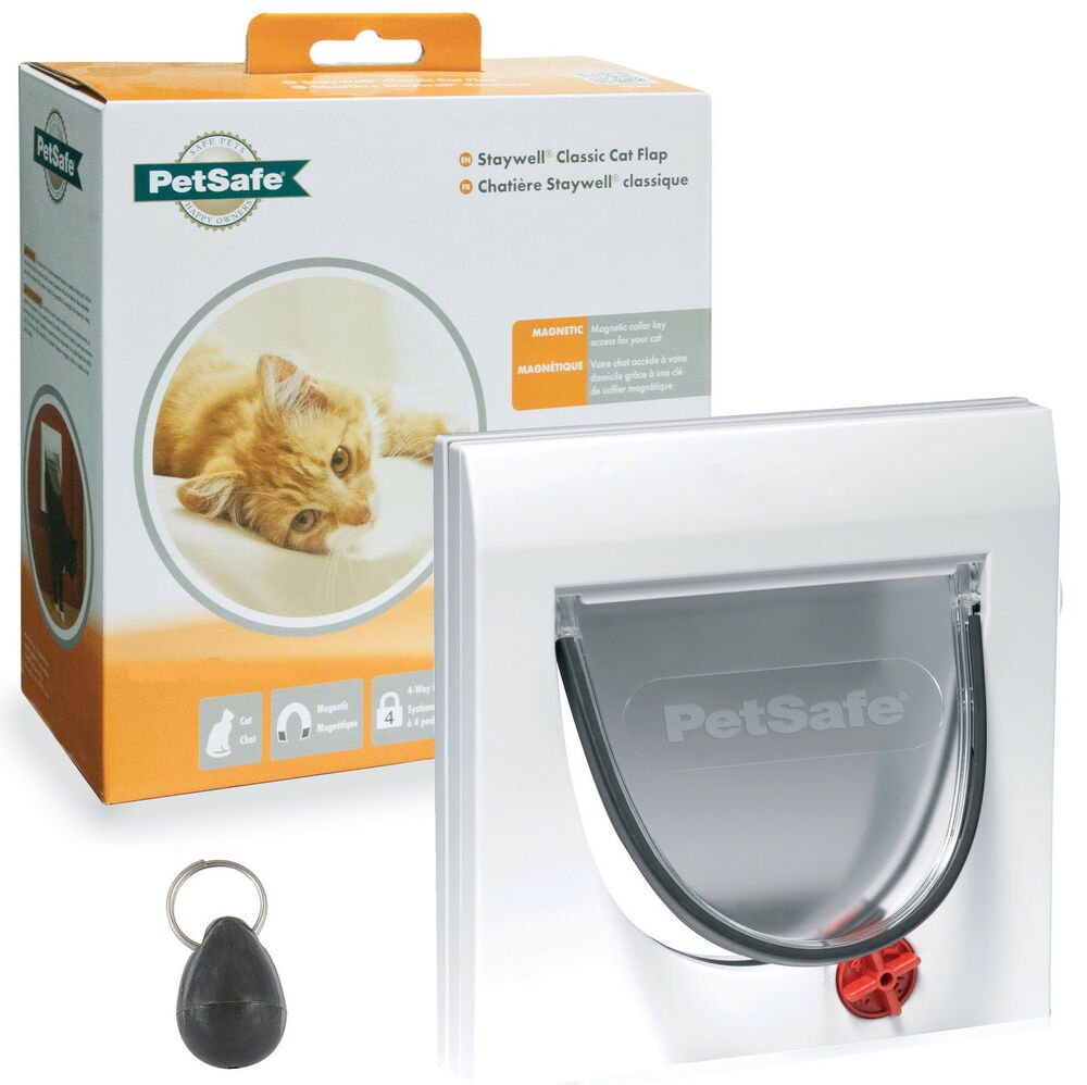 Cat Kennel With Magnetic Cat Flap