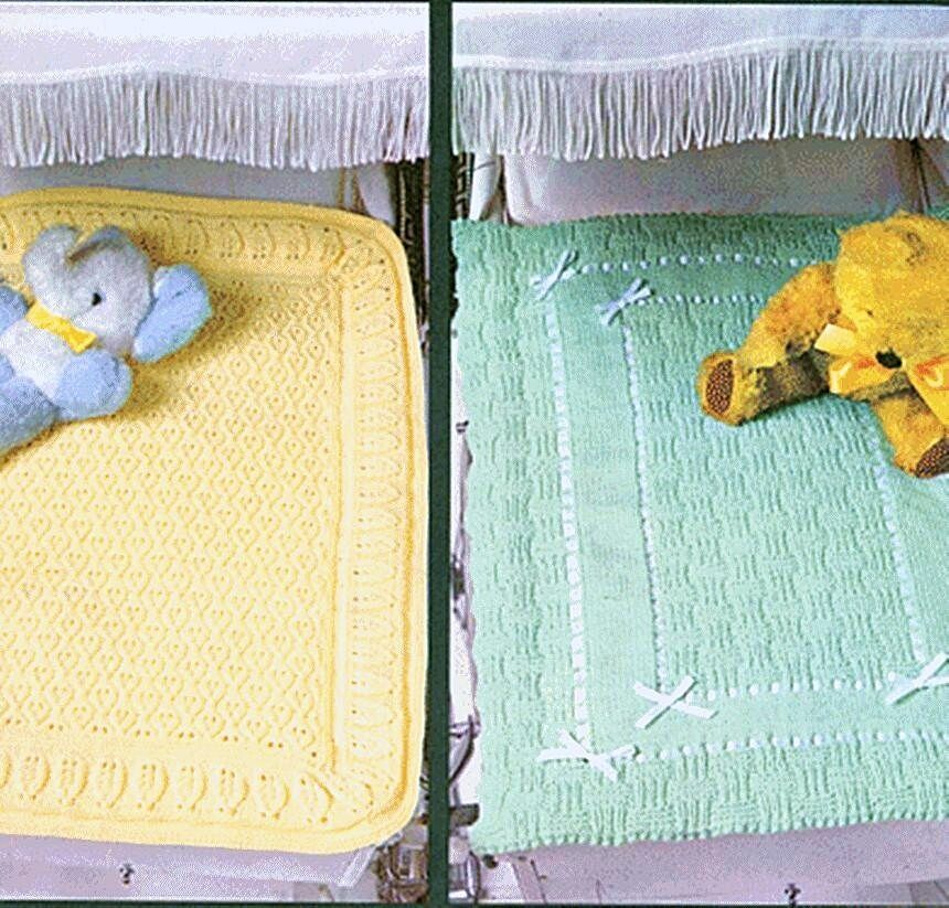 Knitted Sock Pattern Free : BABY KNITTING PATTERN PRAM COVERS BLANKETS DK eBay