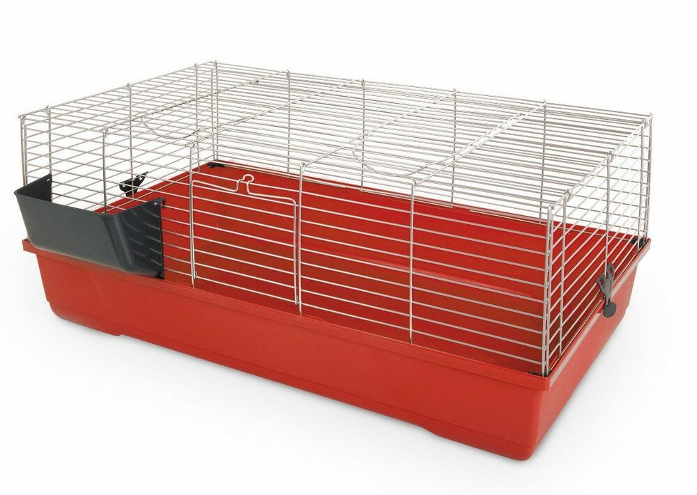 Indoor single storey rabbit guinea pig cage hutch run 80 for Free guinea pig hutch