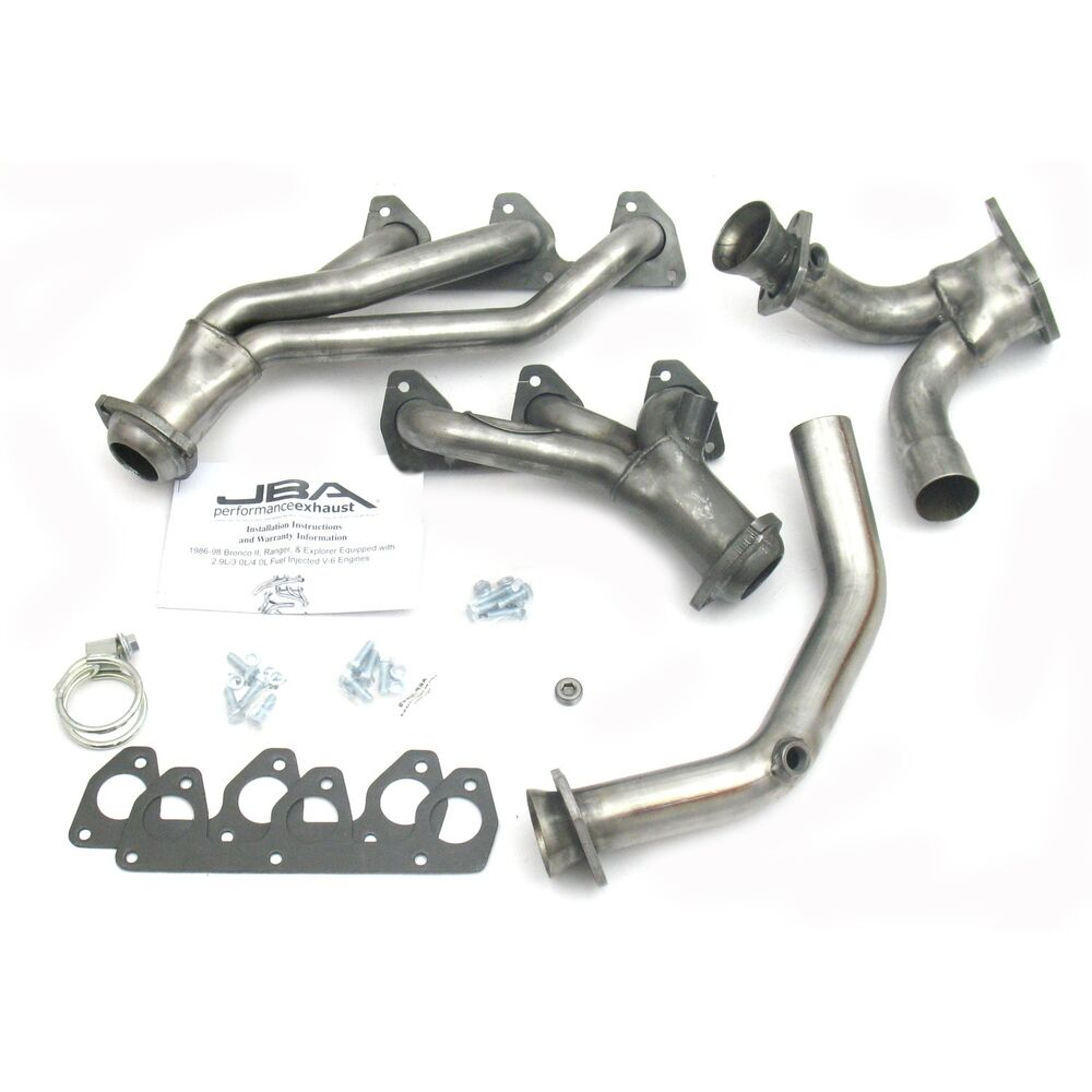 Ford ranger v jba stainless steel headers new