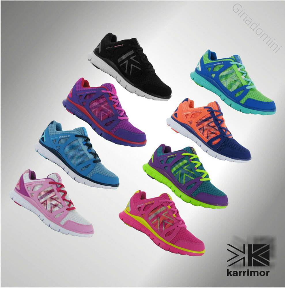 New Womens Ladies Karrimor Running Trainers Sports Shoes ...