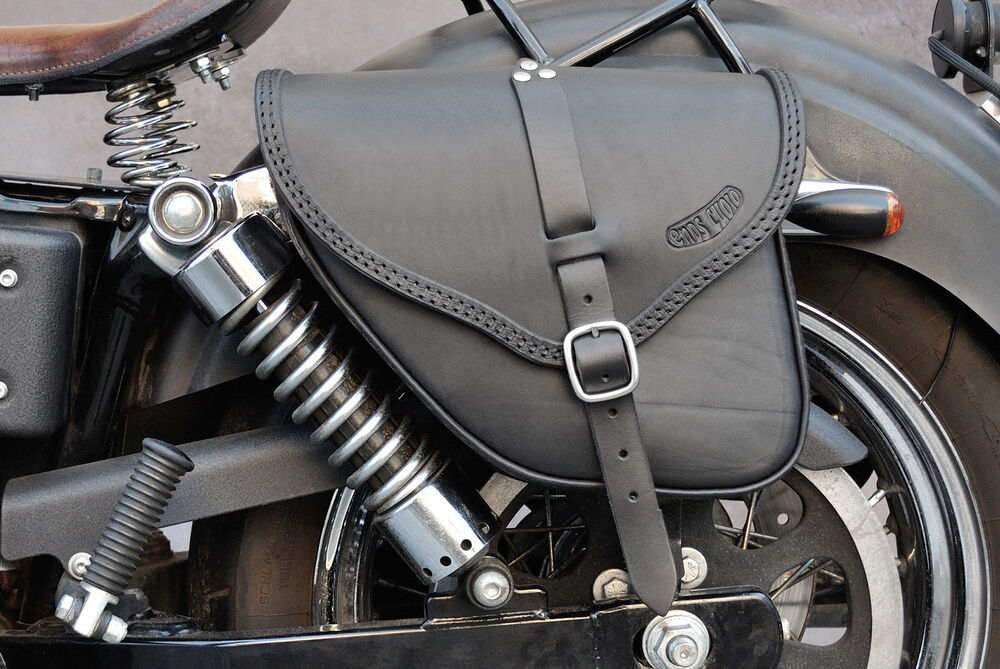 Saddle Bag For Harley Davidson Dyna Street Bob Wide Glide