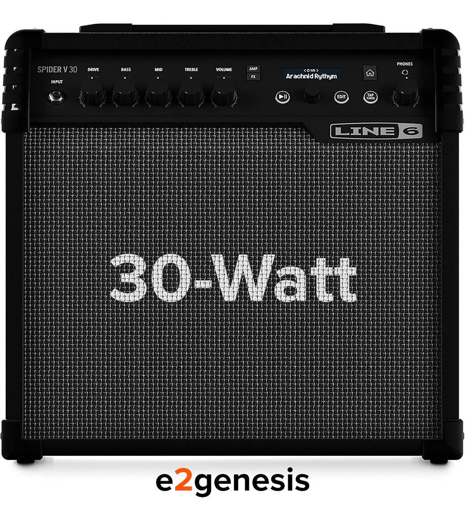 line 6 spider v30 30 watt guitar amplifier 1x8 modeling guitar combo amp ebay. Black Bedroom Furniture Sets. Home Design Ideas