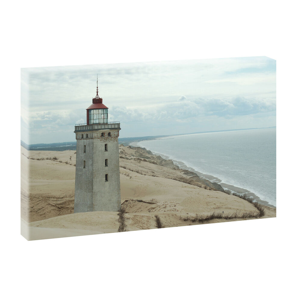 bilder keilrahmen leinwand meer strand nordsee 100cm 65cm xxl leuchtturm 3 439 ebay. Black Bedroom Furniture Sets. Home Design Ideas