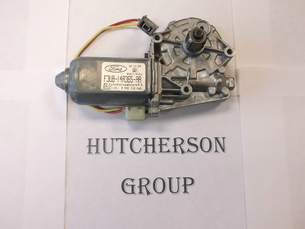 New oem ford window lift motor 1993 ford e250 econoline for 1995 ford explorer window motor replacement