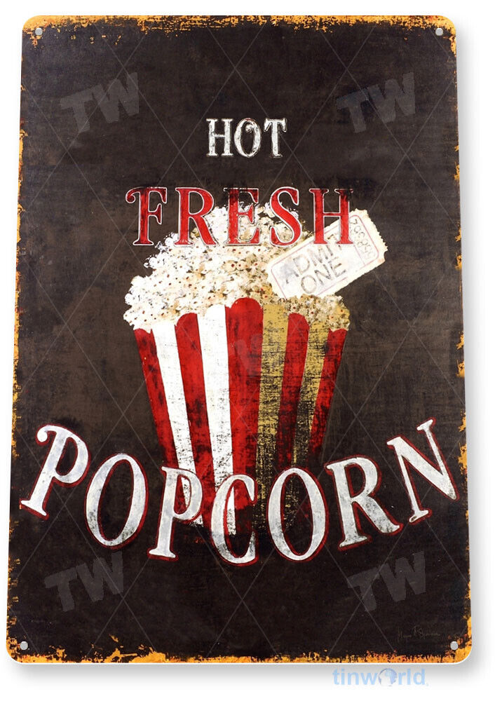 Popcorn Kitchen Decor