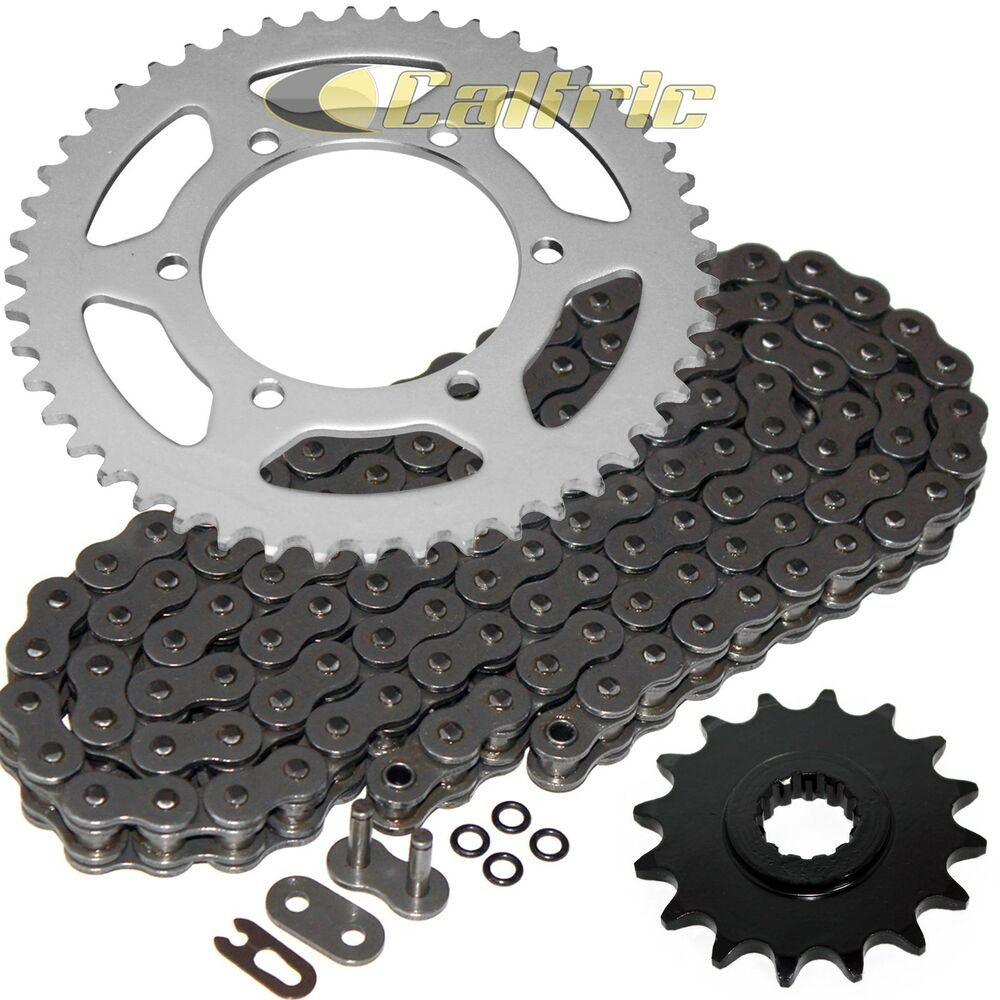 steel o ring drive chain sprockets kit fits yamaha r6