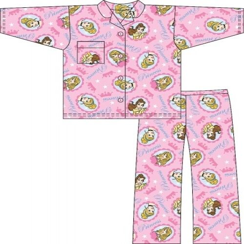 1f3b36f70 DISNEY PRINCESS WINCYETTE FLEECY FEEL PYJAMAS PJ DISNEY..FLANNEL ...
