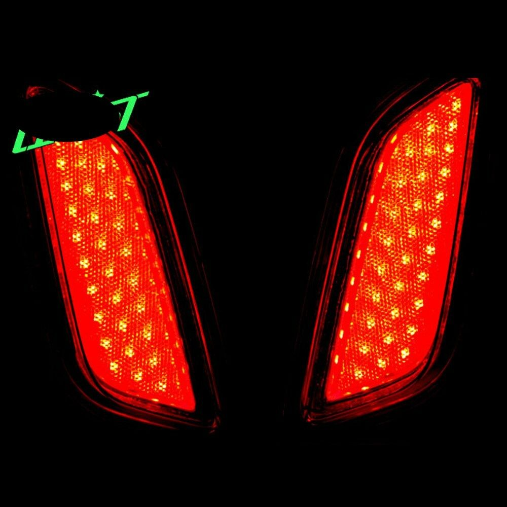 Led Rear Bumper Reflector Tail Brake Lights For Hyundai