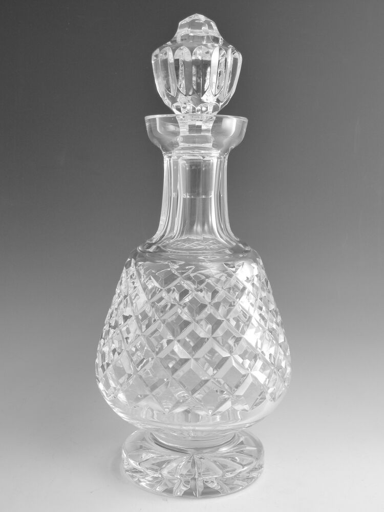waterford crystal boyne alana cut brandy decanter decanters 12 ebay. Black Bedroom Furniture Sets. Home Design Ideas