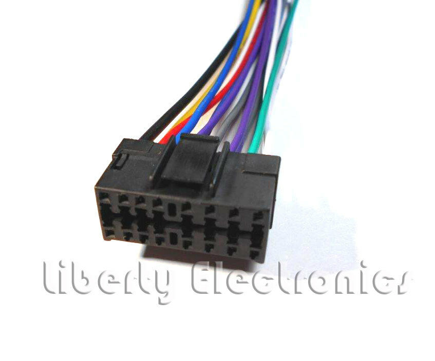 s l1000 new car stereo wire harness for jvc kd s12 kd s15 kd s16 ebay jvc kd s15 wiring diagram at gsmx.co
