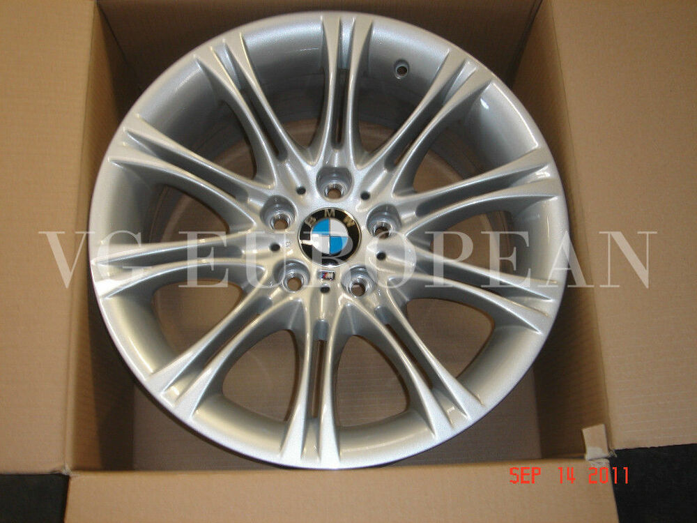 Bmw E60 5 Series Genuine M Double Spoke 135 18 Quot Wheel Set