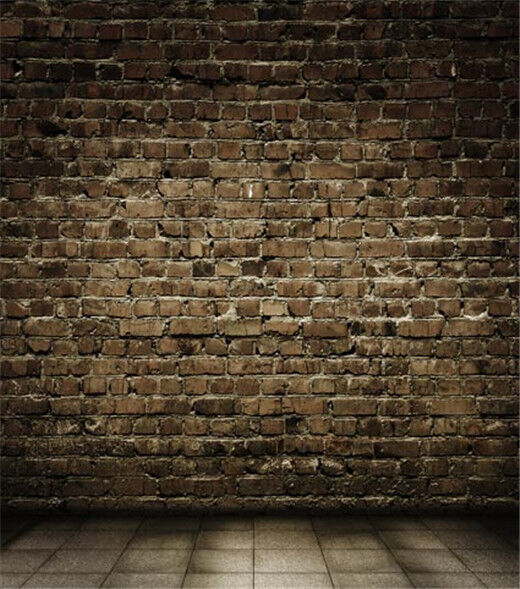 Brick wall background 5x7ft wedding portrait living room for 10x20 living room