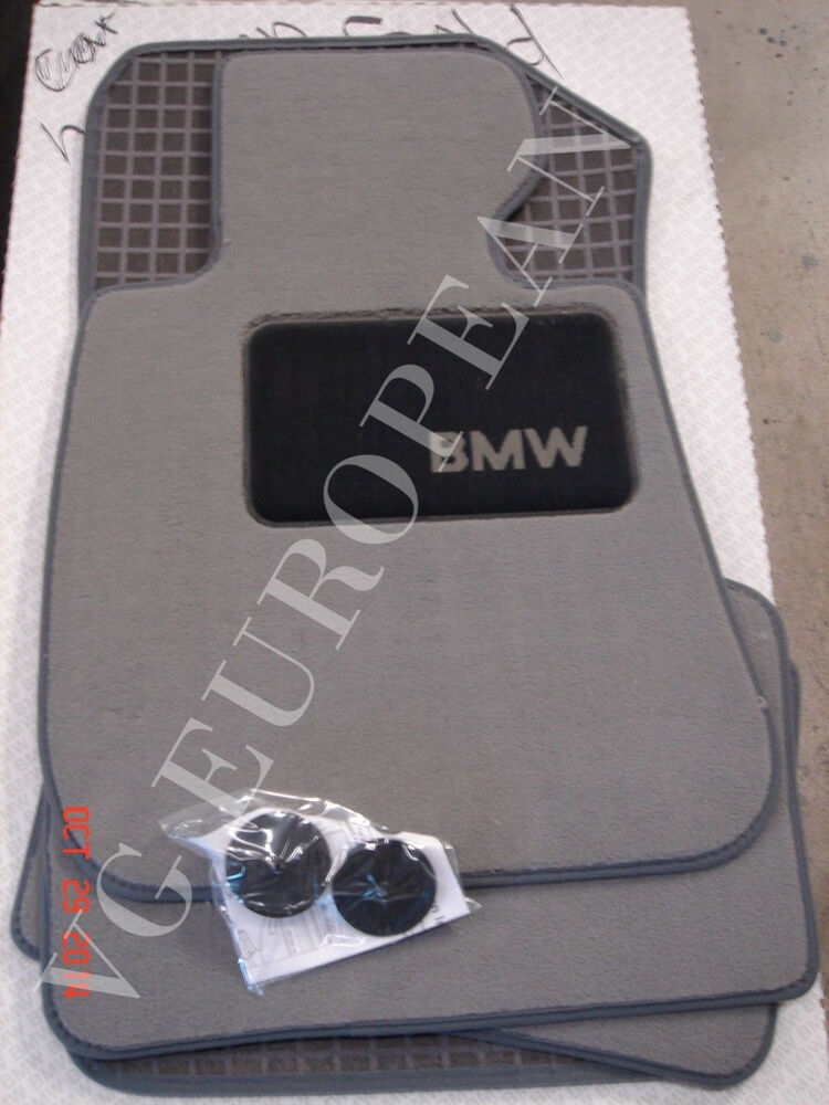 Bmw Car Mats Ebay >> BMW E90 E91 3-Series Genuine Carpeted Floor Mat Set, Mats NEW 2006-2011 Set of 4 | eBay