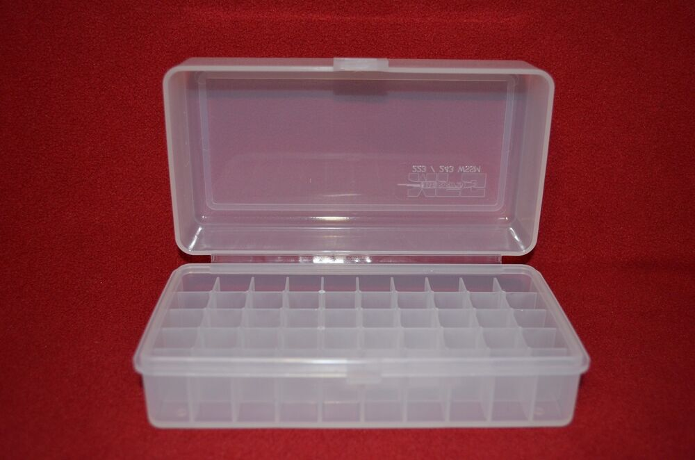 Aa Battery Plastic Storage Box Bin Container Holds 50