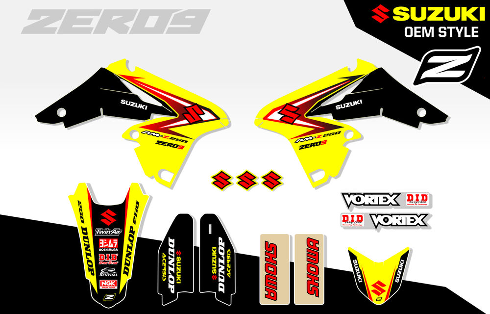 Retro Graphic Kits Suzuki