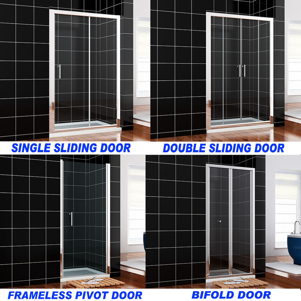 bifold pivot hinge sliding shower door walk in wet room