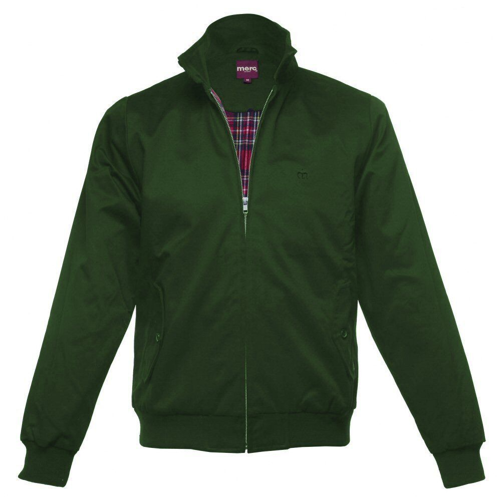 The Winter Longhorn Harrington jacket takes on a Superdry twist featuring a ribbed collar, cuffs and hem, double button collar fastening, two front pockets and a fleeced lining with single inner pocke.