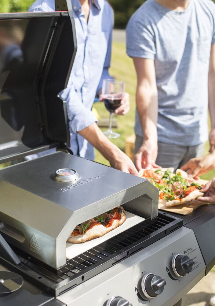 Details About Firebox Pizza Oven Outdoor Portable Stone Baked Gas Grill Bbq
