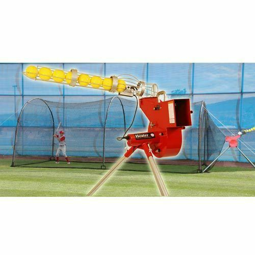 Heater Combo Baseball Softball Pitching Machine Amp Xtender