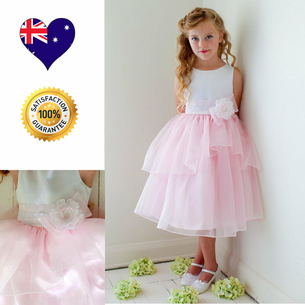 Flower Girl Dress Girls Party Special Occasion Dresses 62