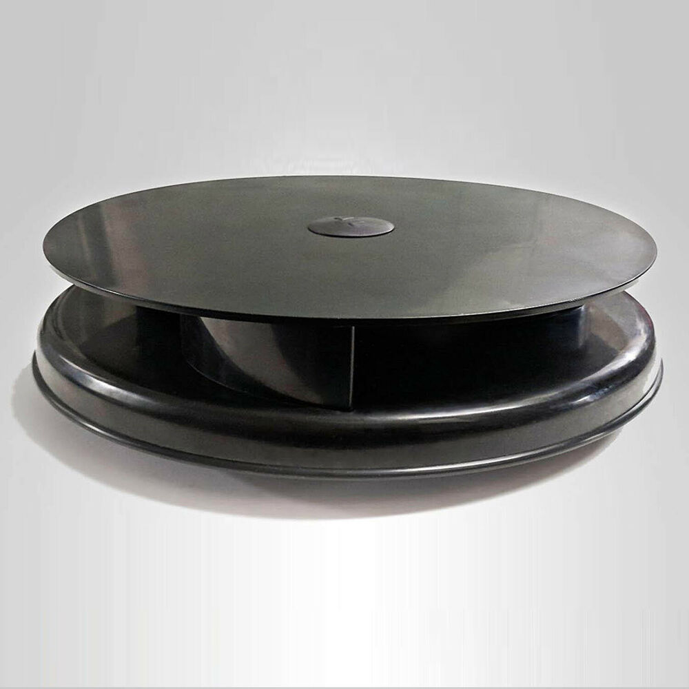 Black Universal Plastic Rotary Van Roof Air Vent For