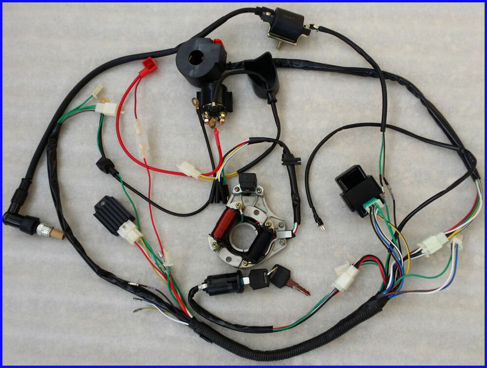 S L on 250 Chinese Atv Wiring Diagram