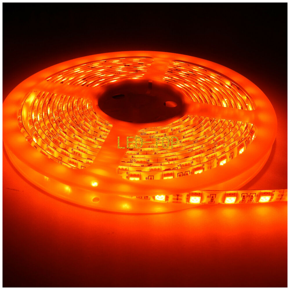 led orange 300led waterproof rope strip fairy lights 12v xmas ebay. Black Bedroom Furniture Sets. Home Design Ideas