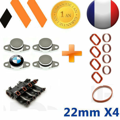 4 bouchons clapet d 39 admission 22 mm bmw joints e46 e90 e91 e92 e60 x3 x5 ebay. Black Bedroom Furniture Sets. Home Design Ideas