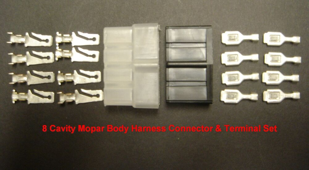 nors 1966 1971 mopar body wiring harness connector set. Black Bedroom Furniture Sets. Home Design Ideas
