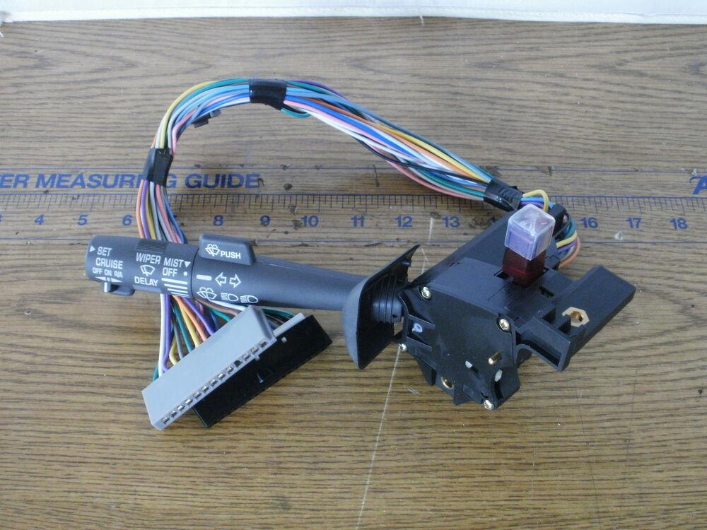 New Turn Signal Switch Relay  U0026 Cruise Control Gm Chevy S10 S