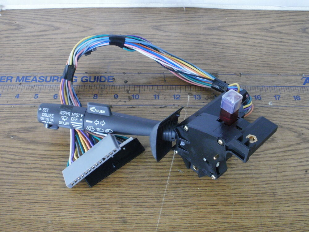 New Turn Signal Switch Relay  U0026 Cruise Control Gm Chevy S10